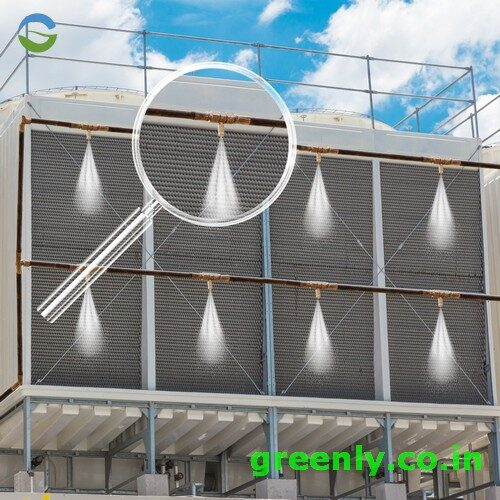 air conditioner condenser coil misting system